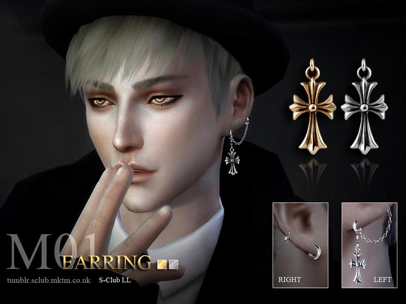 S-Club LL ts4 earring 01(M)