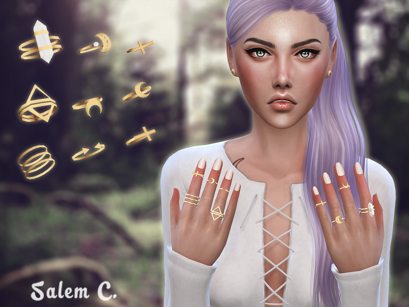 Salem C.'s Rings set 1