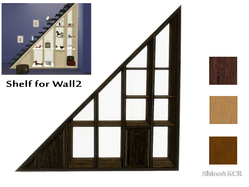 Under Stair   Shelf Wall2