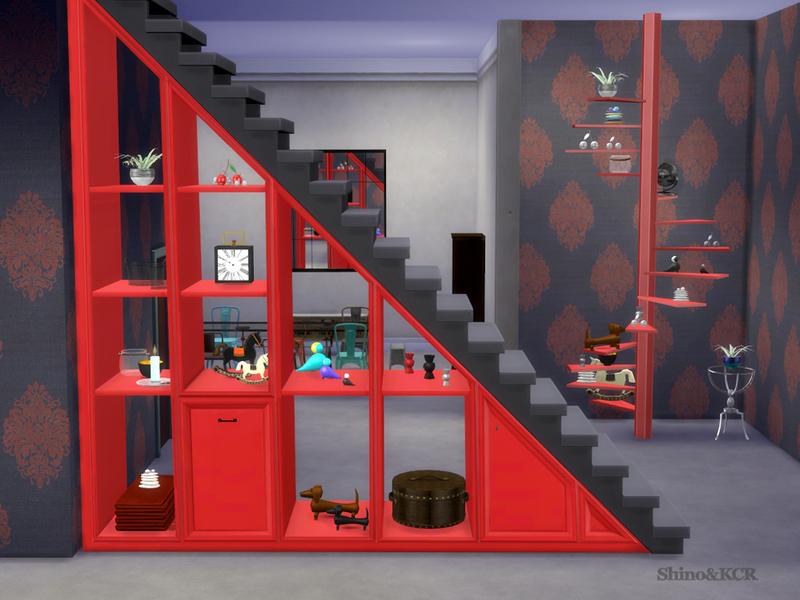 Under Stair Shelves ...