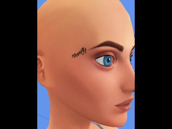 cath-creative-corner's Jeffree Star Vanity Face Tattoo