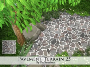 Sims 4 — Pavement Terrain 25 by Pralinesims — By Pralinesims
