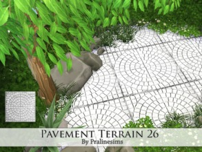 Sims 4 — Pavement Terrain 26 by Pralinesims — By Pralinesims