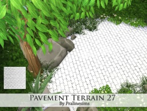 Sims 4 — Pavement Terrain 27 by Pralinesims — By Pralinesims