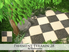 Sims 4 — Pavement Terrain 28 by Pralinesims — By Pralinesims