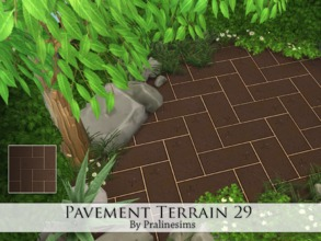 Sims 4 — Pavement Terrain 29 by Pralinesims — By Pralinesims