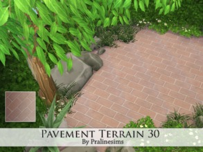 Sims 4 — Pavement Terrain 30 by Pralinesims — By Pralinesims