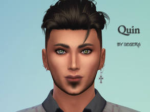 Sims 4 — Quin by Degera — The cutest sweetheart in town! Quin's seeking a soulmate. He's good, cheerful and creative.