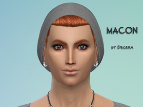 Sims 4 — Macon by Degera — Macon is the biggest computer geek in town, and a genius loner. But is he too lonely?