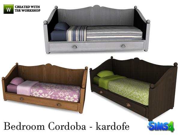 kardofe bedroom cordoba bed