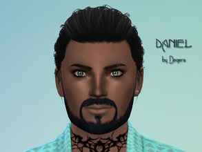 Sims 4 — Daniel by Degera — Daniel has a head for business, buying and selling real estate until he's gained the fortune