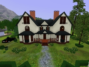 Sims 3 — McLawrence's Family Goth House by KaMiojo_ — This house was build with Goth style. It has two floors ; four