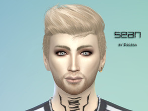 Sims 4 — Sean by Degera — Blondes have more fun, just watch out for the green monster (jealousy)! Romantic and