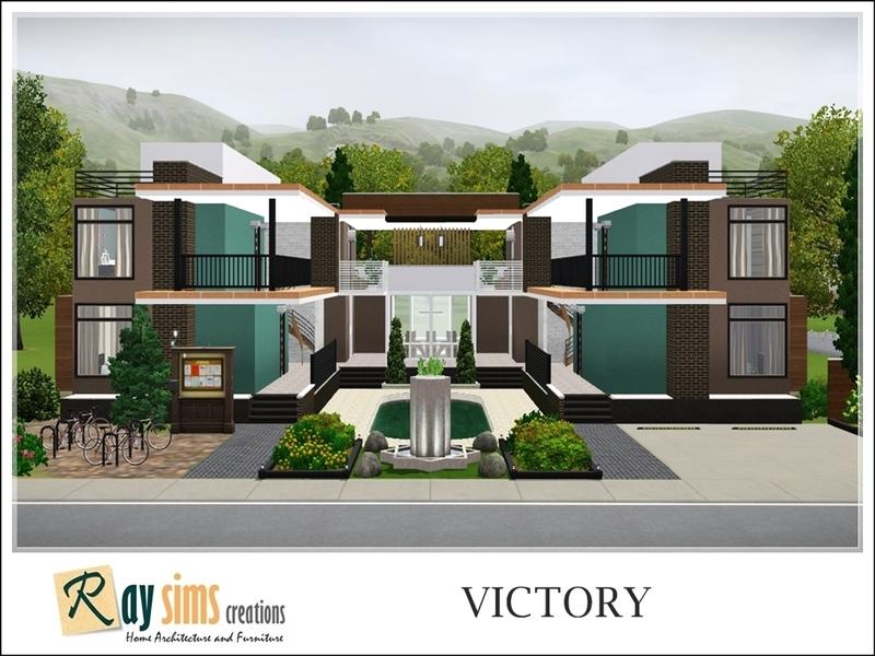 Decorating Ideas > RaySims Victory (Dormitory) ~ 164505_Sims 3 Dorm Room Ideas