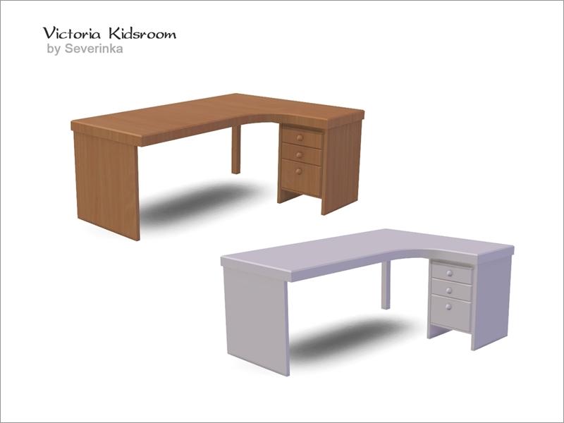 Severinka S Victoriakidsroom Desk Ungular Right