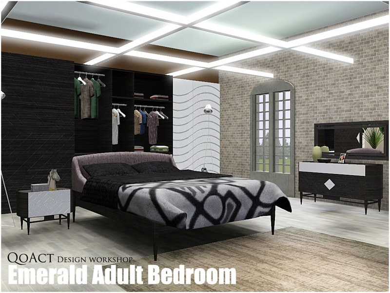 QoAct's Emerald Adult Bedroom