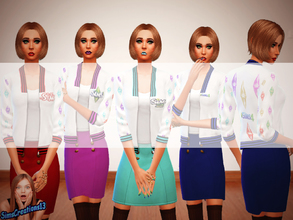 Sims 4 — 3 coloured Skirts - Get Together needed by SIMSCREATIONS13 — This is a simple skirt that goes with my sims