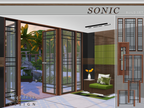 Nynaevedesign S Sonic Build Set