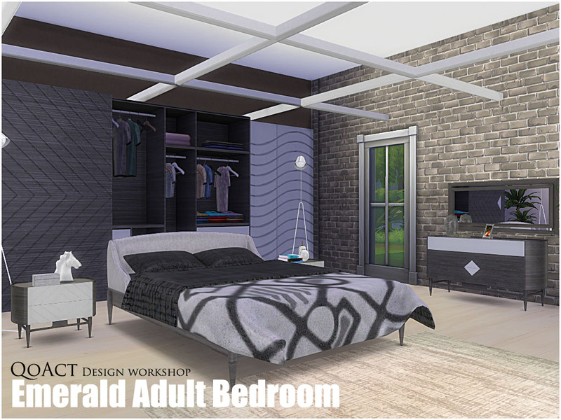 Qoact S Emerald Adult Bedroom