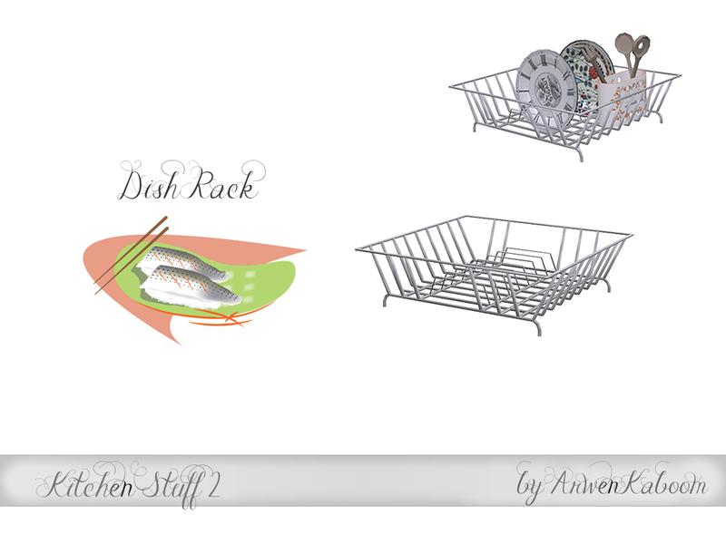 Arwenkaboom S Kitchen Stuff 2 Dish Rack