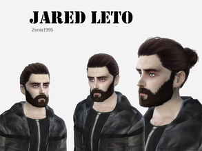 Sims 4 — Jared Leto by Zenia19952 — Jared Leto You can find the custom content in the creator notes, which is used to