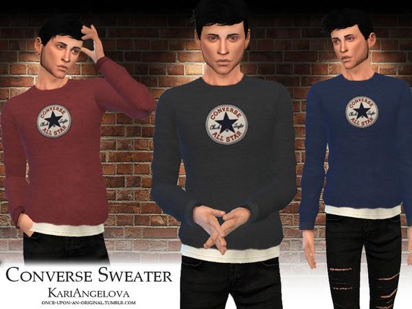 kariangelova 39 s all star converse sweater. Black Bedroom Furniture Sets. Home Design Ideas