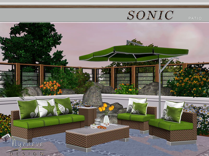 Sims 3 garden sets sonic patio sisterspd