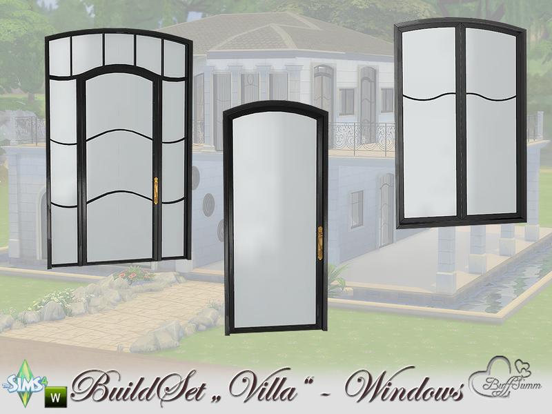 BuffSumm's Build-A-Villa Windows and Doors