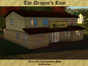Sims 3 — The Dragon's Roar by MarsJenkar — The place to go for medieval and modern esoterica, or to sell your own! Now