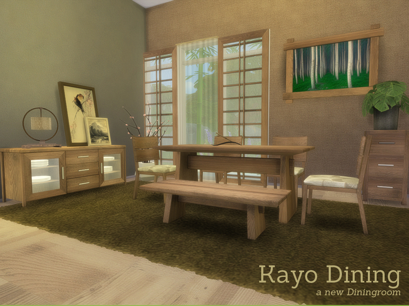 ... Angela 39 S Kayo Dining For Sims 4 Dining Room Ideas ...
