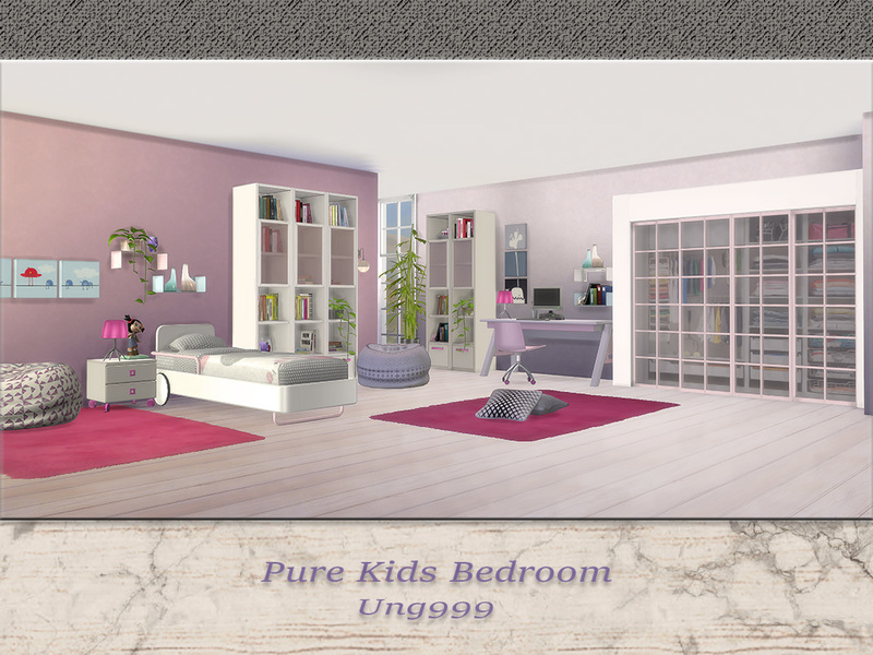 Ung999 S Pure Kids Bedroom