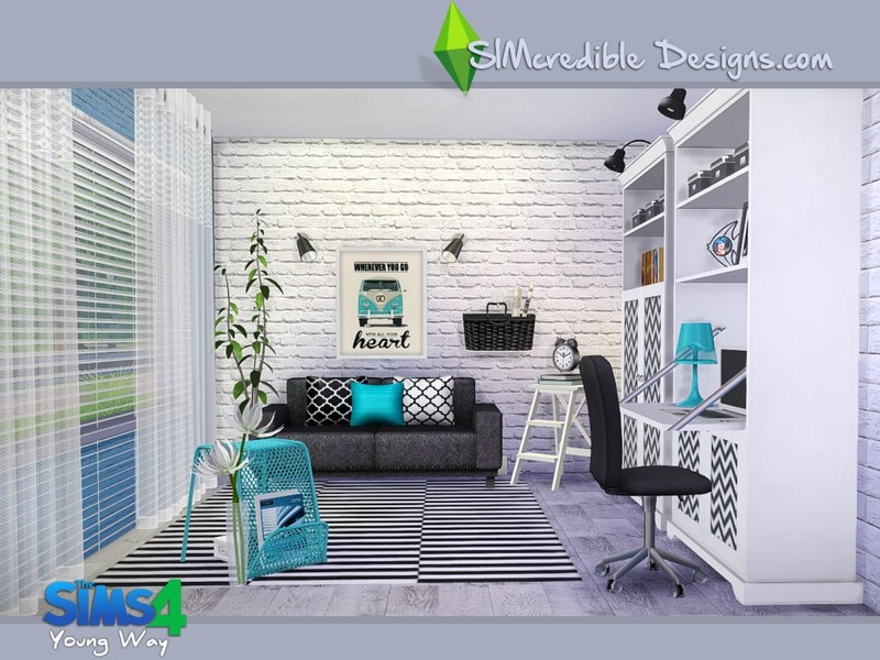 SIMcredibles Young Way Living