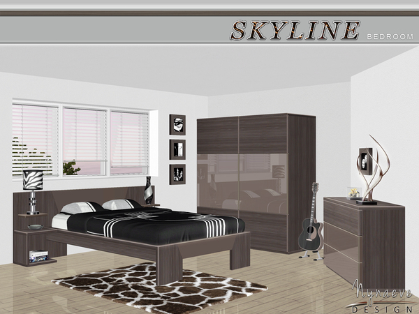 Nynaevedesign 39 s skyline bedroom for Cityscape bedroom furniture collection