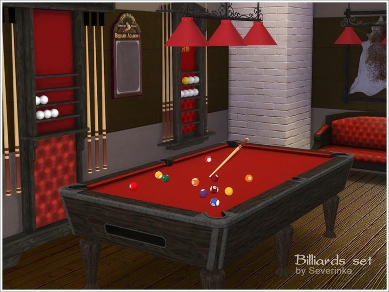 Billiards set & Severinka_\u0027s Billiards set