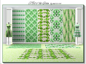 Sims 3 — A Bit o'the Green_marcorse by marcorse — Five Irish themed patterns to celebrate St. Patrick's Day on the 17th