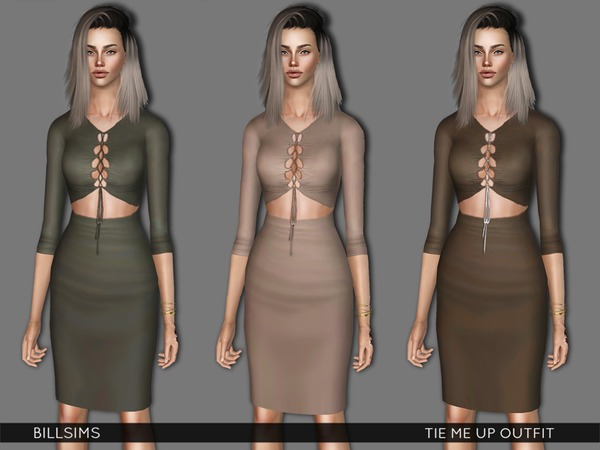 Tie Me Up Outfit by Bill Sims