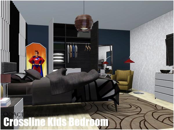Qoact S Crossline Kids Bedroom