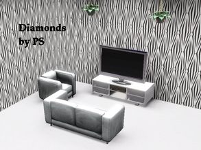 Sims 3 — Diamonds by PokerSims by PokerSims — Geometric pattern is here! :)