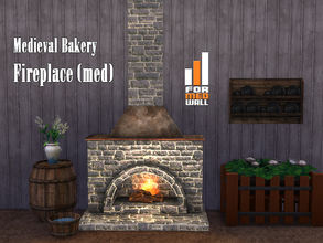 Medieval / Sims 4 Fireplaces