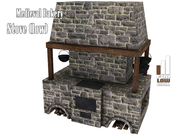 Kiolometro's Medieval Bakery Stove (low)