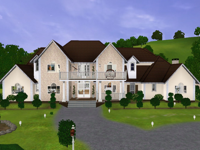 Kamiojo 39 s puppe 39 s family dream house for Best house designs for the sims 3