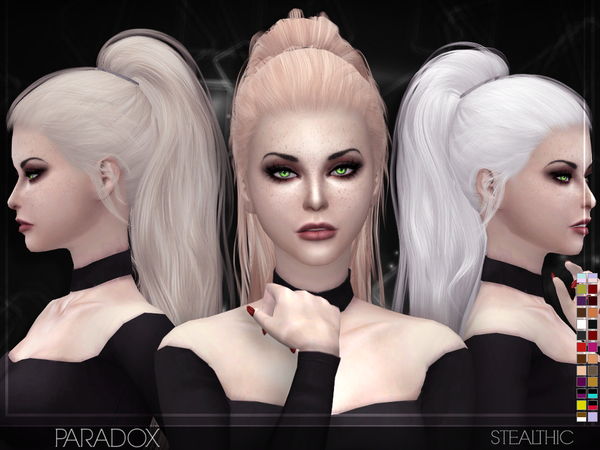 acconciature the sims 4