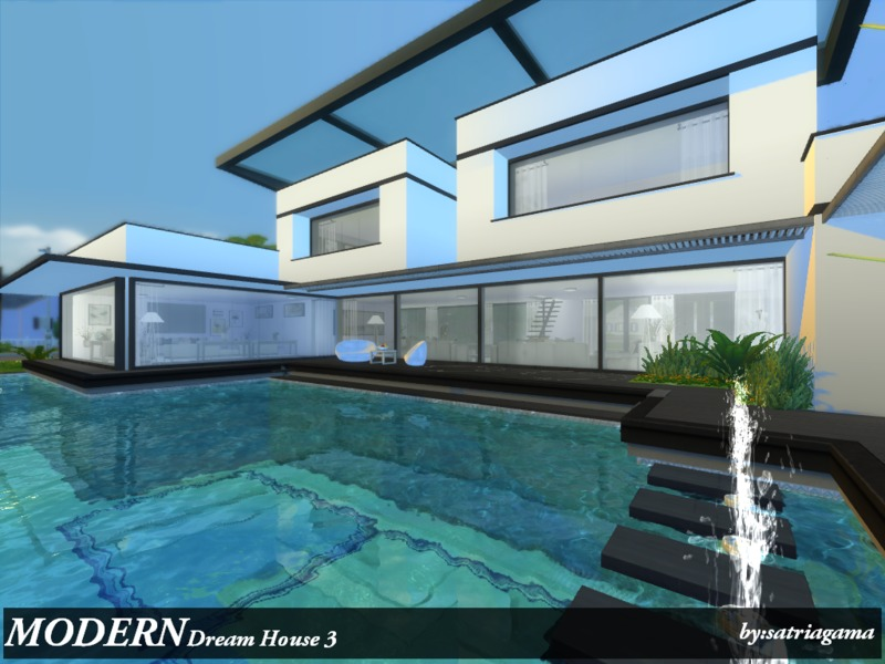 satriagama s modern dream house 3 rh thesimsresource com modern dream house drawing easy modern dream house drawing easy