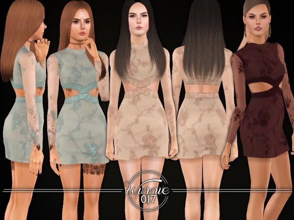 Embellished Bodycon Dress (Teens) by winnie017