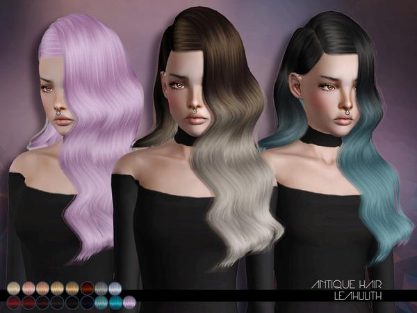 Antique Hair by LeahLillith