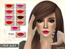 The Sims Resource: Everyday Lipstick by Neenornina • Sims