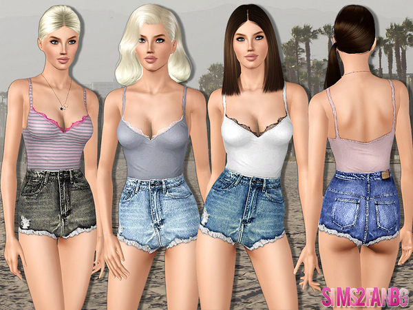 442 - Casual Outfit by sims2fanbg