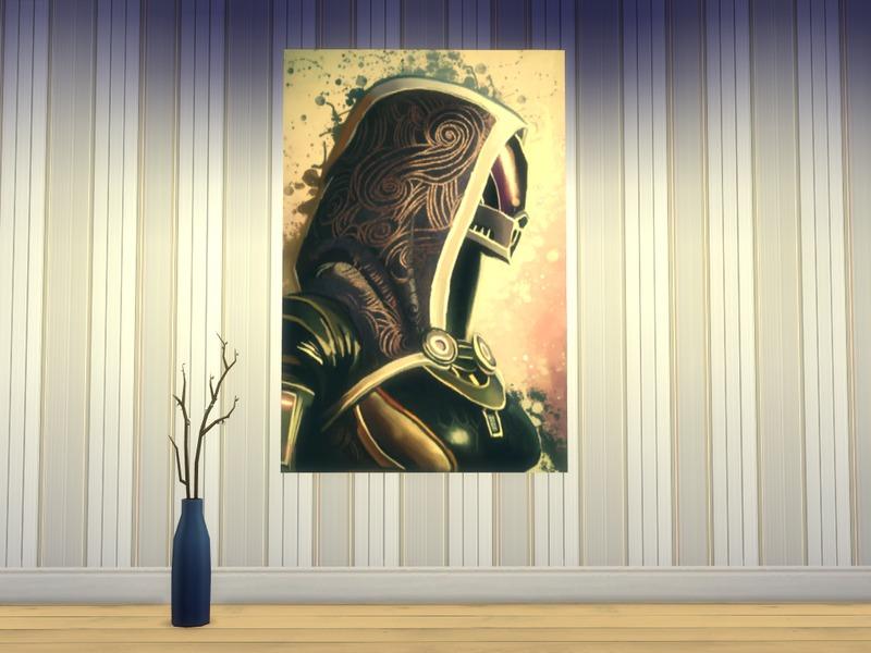 chicagonative\'s Mass Effect Wall Art Set No.1