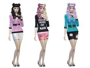Sims 4 Downloads Goth