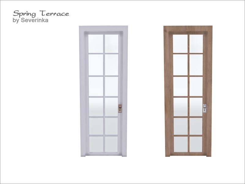 [Spring Terrace] Door 1x3  sc 1 st  The Sims Resource & Severinka_\u0027s [Spring Terrace] Door 1x3